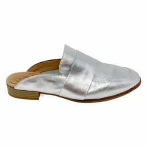 Free People | At Ease Loafer Silver Metallic